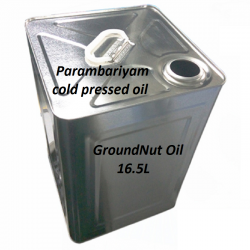 Ground Nut Oil Tin 16.5 Ltr