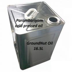 Ground Nut Oil Tin 16.5 Ltr
